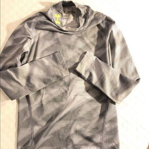 Under Armor tight fit dry fit shirt